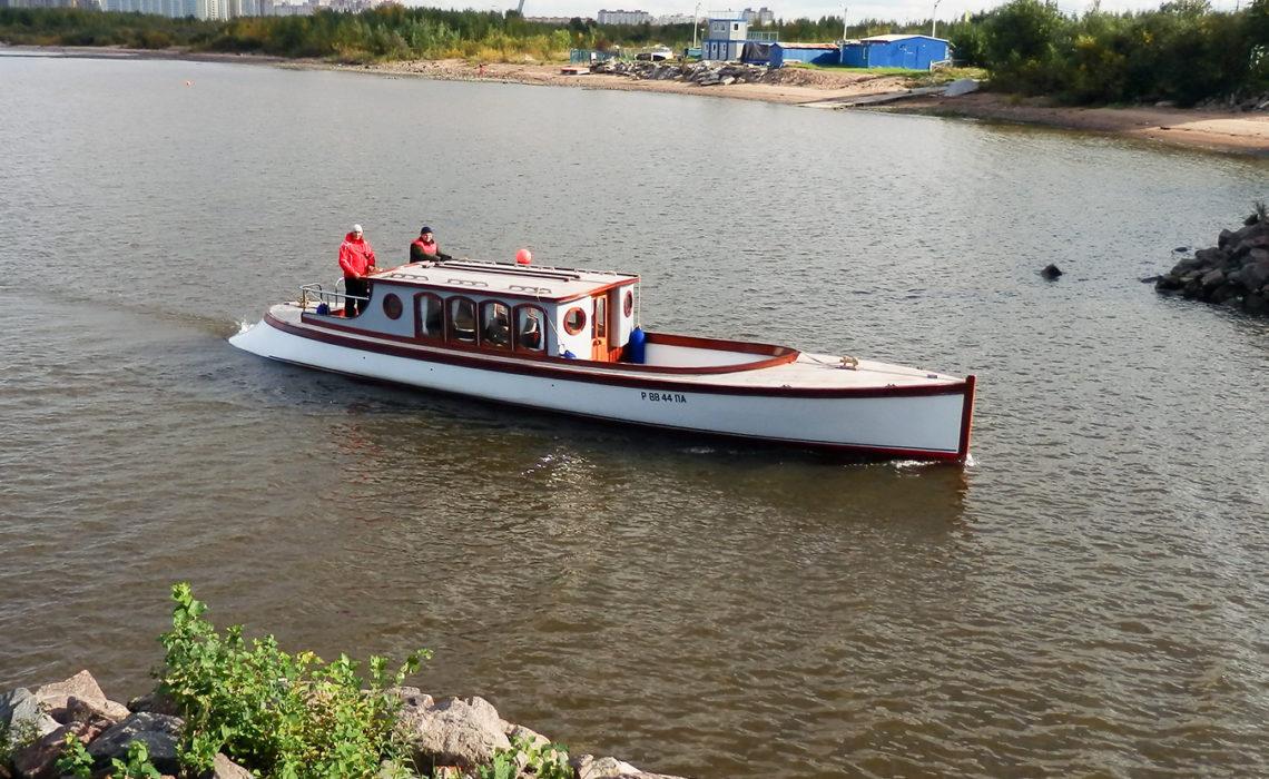 """""""Ваше Величество"""" в яхт-клубе Балтиец"""
