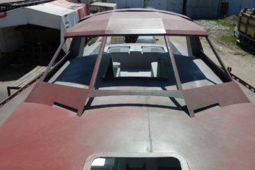 Готовый стальной корпус для парусной яхты проекта Forna 37