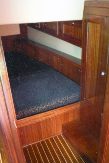 Кормовая каюта яхты Milonga (Forna 37)