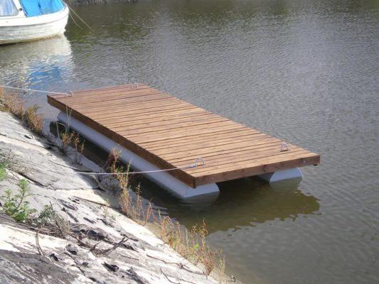 Понтон 6х2 м на воде