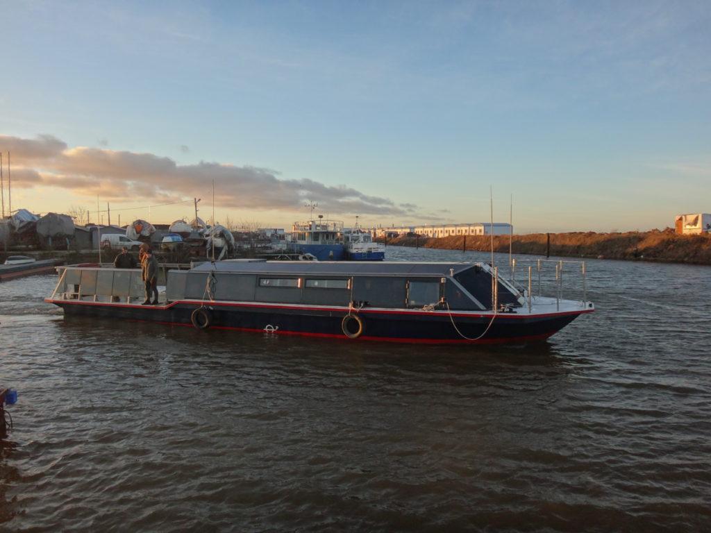 Экскурсионное пассажирское судно типа Мойка