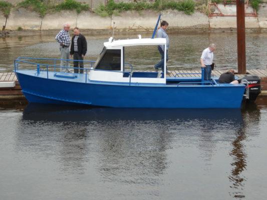 Стальная лодка Iron Boat 700