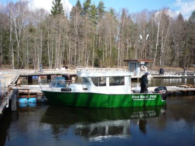 Iron Boat740 у причала