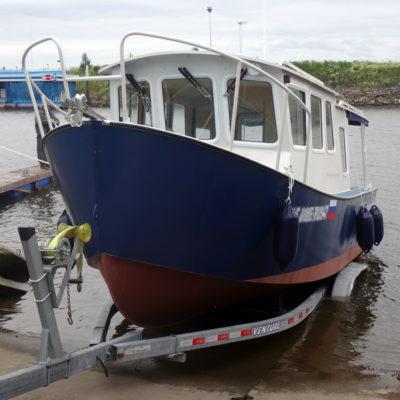 Спуск на воду первого судна проекта Melody Bay 800