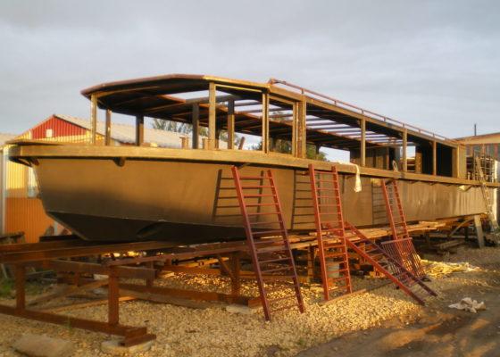 Готовый корпус экскурсионного судна Меркурий-5