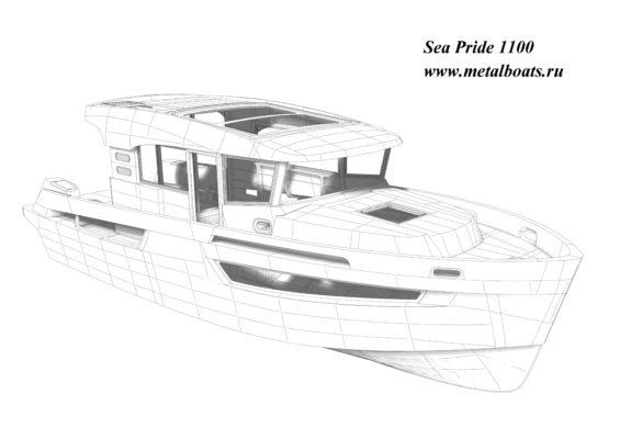 3D модель Sea Pride 1100
