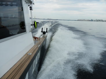 Троллинговая рыбалка на катере Sea pride 850
