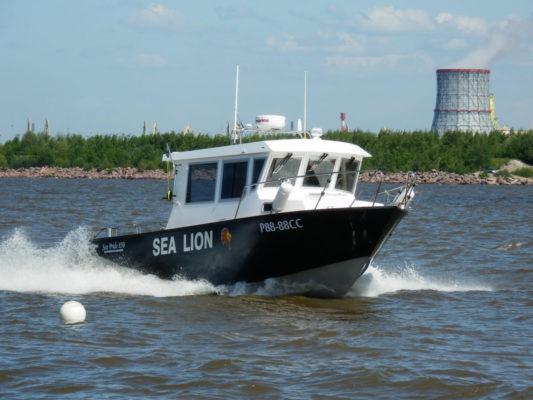 Sea Pride 850 на Финском заливе