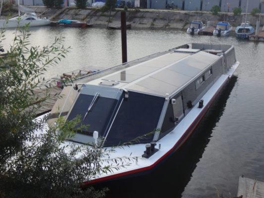 Экскурсионное пассажирское судно типа Мойка - вид сверху