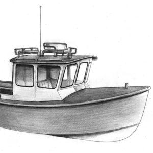 Промысловый бот и пассажирское судно на базе Melody Bay 800.
