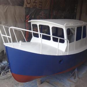 Melody Bay 800 — первый корпус готов и окрашен