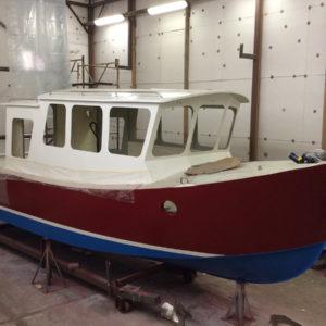 Новый катер проекта MB800
