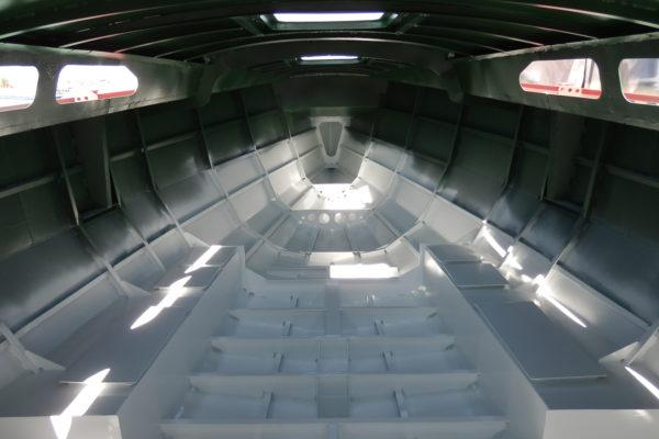 Готовый стальной корпус для парусной яхты