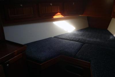 Носовая каюта яхты Milonga (Forna 37)