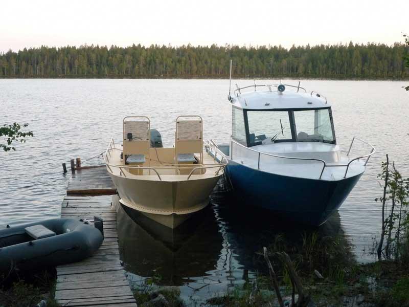 Катера Iron Boat 700 и Iron Boat 740 в эксплуатации