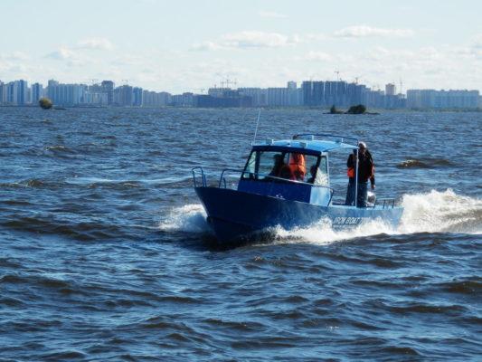 Iron Boat 700 на ходу