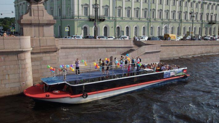 """Судно проекта """"Гранд Фонтанка"""" в эксплуатации"""