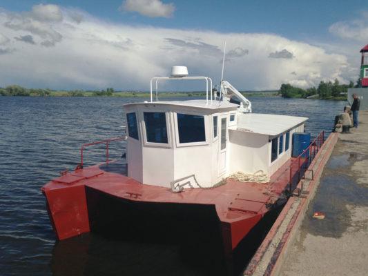 Катамаран и судно-лаборатория CatRUN 1500