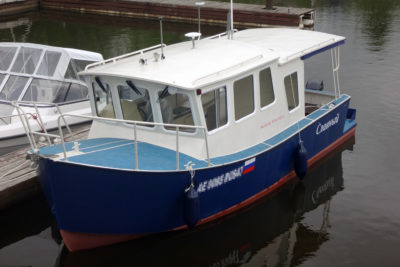 Первый  MB800 под именем Славный спущен на воду