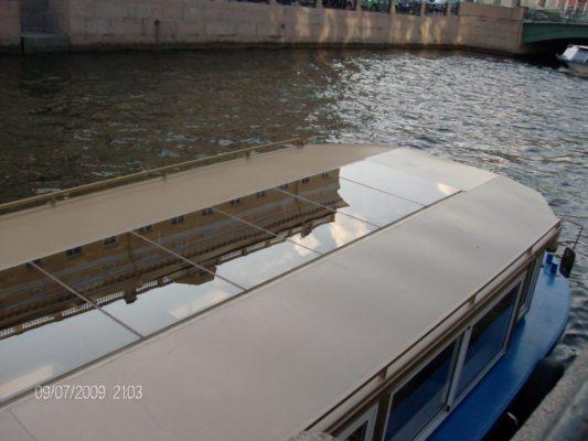 Остекление палубы зкскурсионного пассажирского судна Меркурий-5