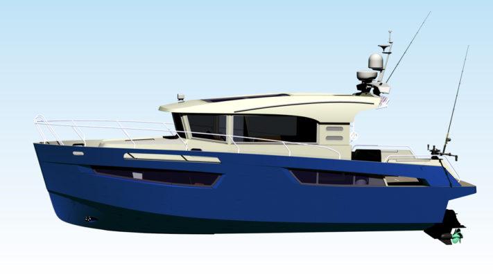 3D модель катера