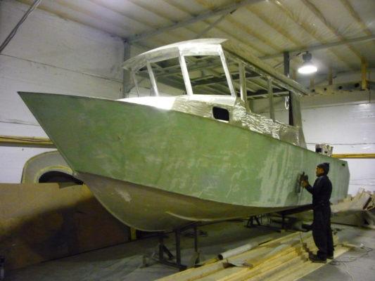 Готовый алюминиевый корпус Sea Pride 850