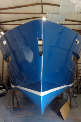 Окрашенный корпус Sea Pride 1100