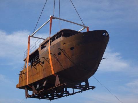 Транспортировка яхты TY-485