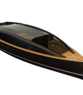 Рендер прогулочного судна VIP-класса