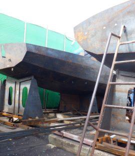 Строительство парусных яхт 5 элемент